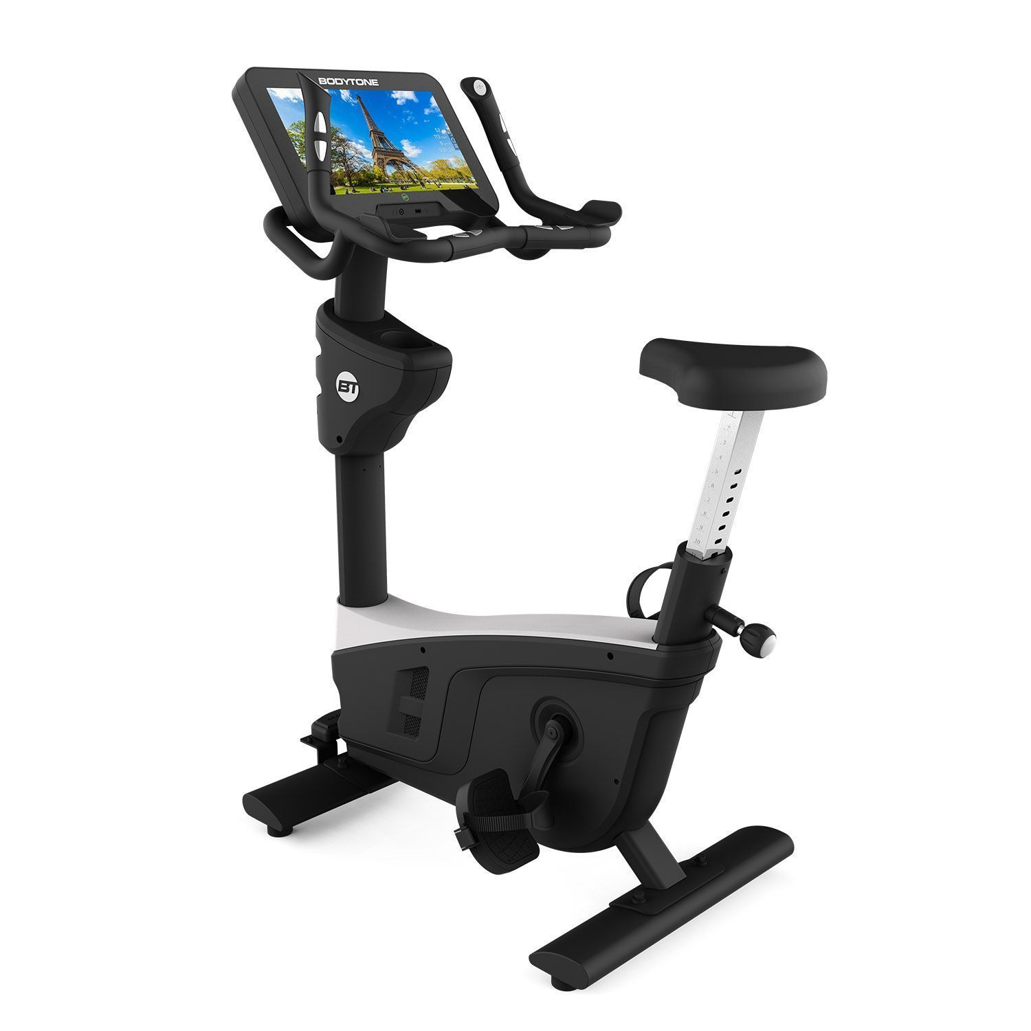 Upright Bike with touchscreen EVOU1+
